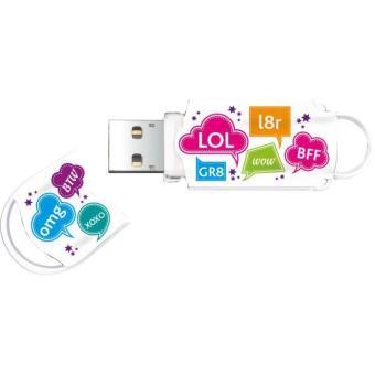 Clé USB 2.0 Integral Xpression Text 16 Go