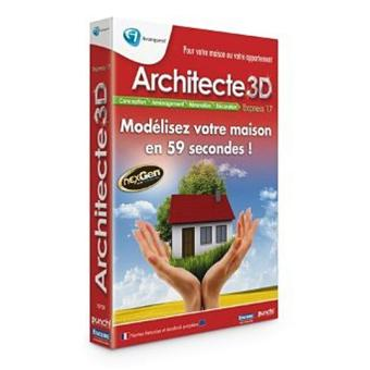 Architecte 3d Express 17 Dvd Rom Achat Prix Fnac