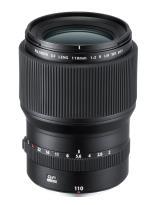 Fujifilm Objectif Fujifilm Fujinon GF 110 mm F2 R LM WR Noir