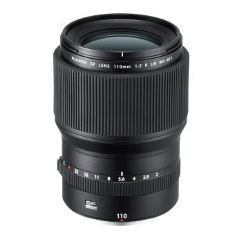 Objectif Fujifilm Fujinon GF 110 mm F2 R LM WR Noir