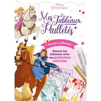 Disney PrincessesPochette Tableaux pailletés : Poneys, chevaux
