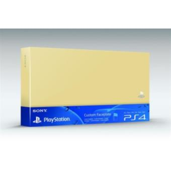 Accessoire Sony Custom Faceplate Or pour Console PS4