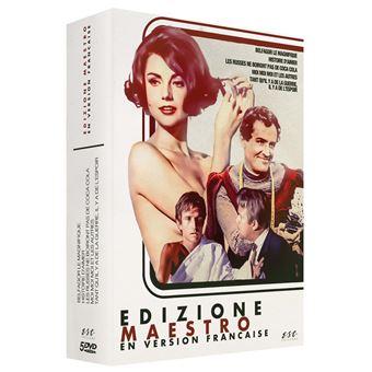 Coffret Edizione Maestro 5 films DVD