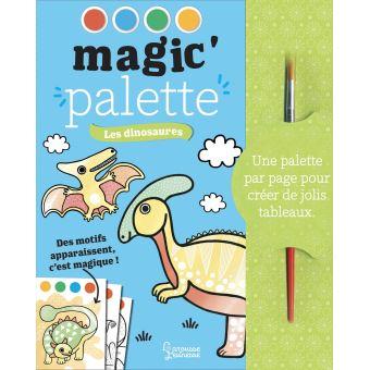 Magic'palette : Les dinosaures