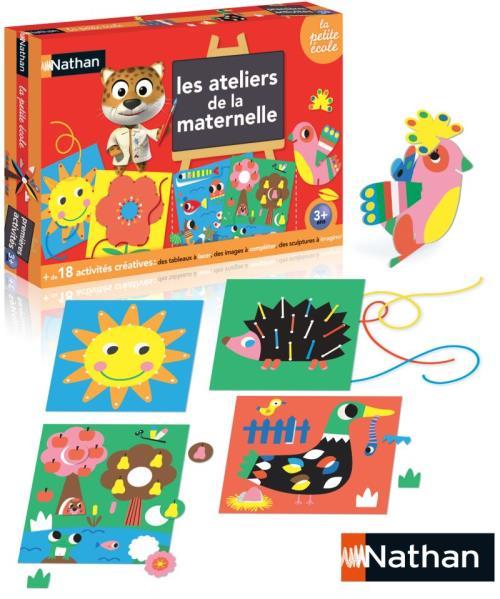 Coffret créatif Les ateliers de la Maternelle Nathan