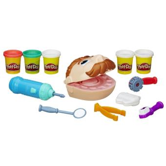 p te modeler le dentiste play doh p te modeler pour enfant achat prix fnac. Black Bedroom Furniture Sets. Home Design Ideas