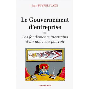 le gouvernement de lentreprise