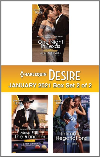Harlequin Desire January 2021 - Box Set 2 of 2