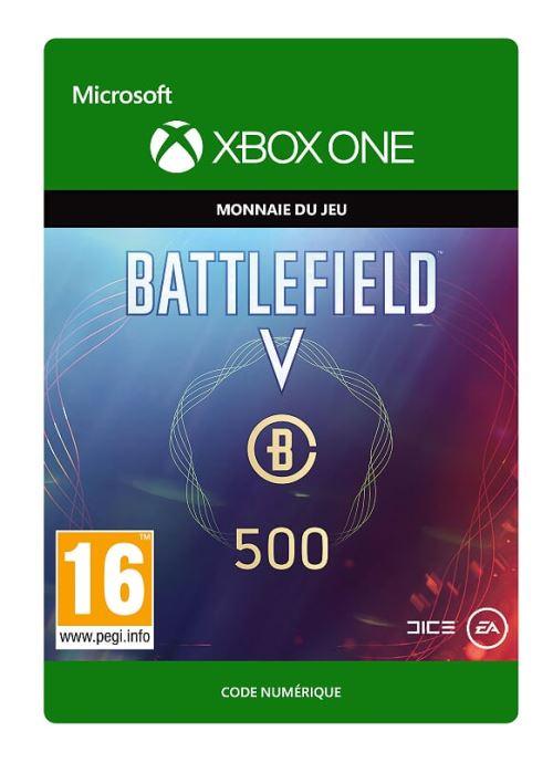 Code de téléchargement Battlefield V Monnaie de Battlefield 500 Xbox One
