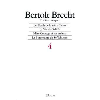 Théâtre complet T4 Brecht