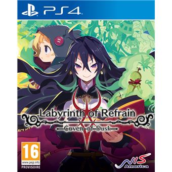 LABYRINTH OF REFRAIN: COVEN OF DUSK FR/NL PS4