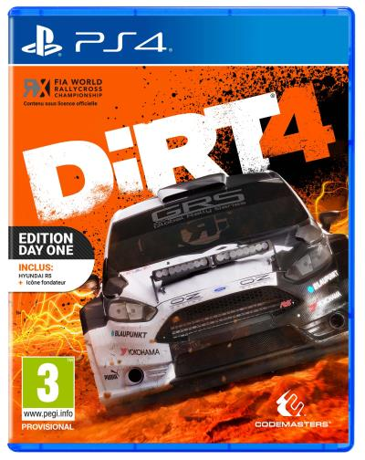 DiRT 4 Edition Day One Steelbook PS4