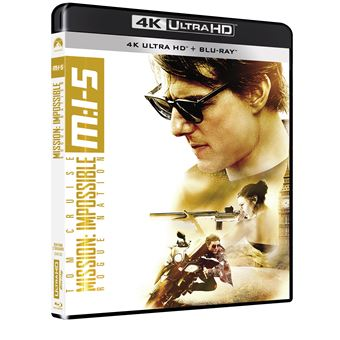 Mission : Impossible  Les FilmsMission : Impossible Rogue Nation Blu-ray 4K Ultra HD
