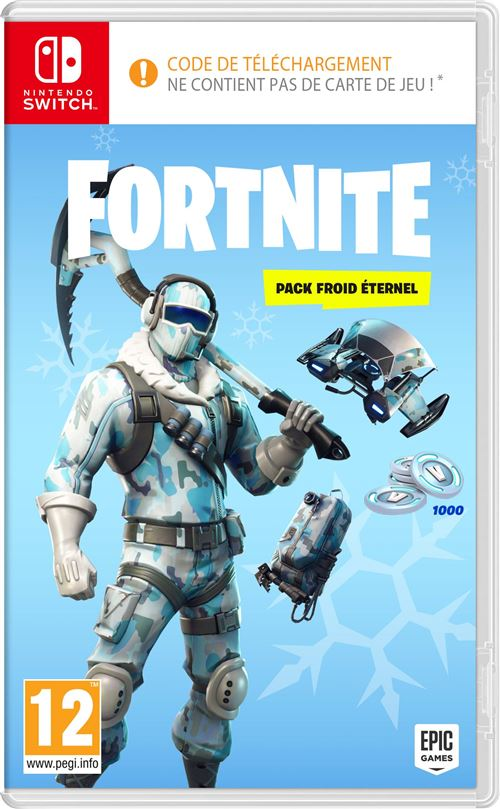 Fortnite Pack Froid Eternel Nintendo Switch