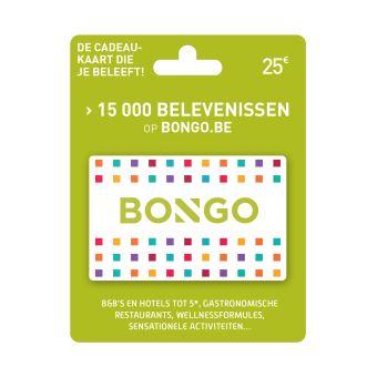 Bongo NL Giftcard GC Waardebon 25