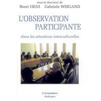 L'observation participante - dans les situations interculturelles