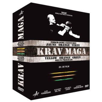 bbb250b146b6 Coffret Krav Maga   Programme ceintures jaune, orange et verte DVD ...