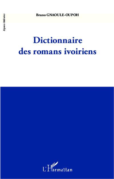 Dictionnaire des romans ivoiriens