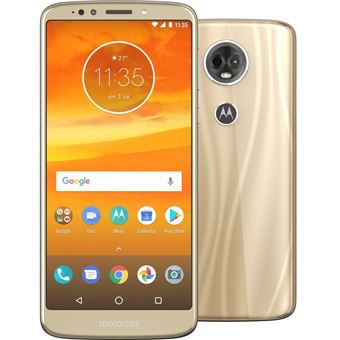 MOTOROLA MOTO E5 PLUS 4G 6'' 32GB 12+5MP FINE GOLD