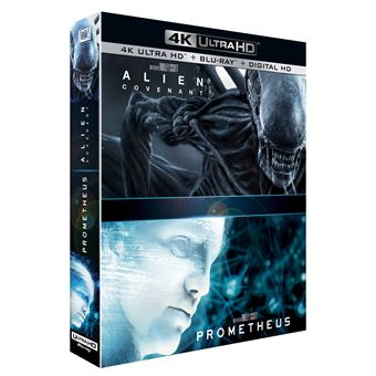 AlienAlien : Covenant, Prometheus Blu-ray 4K Ultra HD