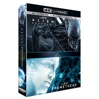 Alien : Covenant, Prometheus Blu-ray 4K Ultra HD