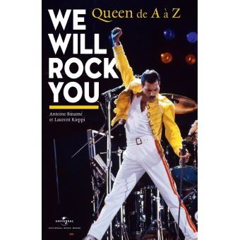 We will rock you queen de a a z