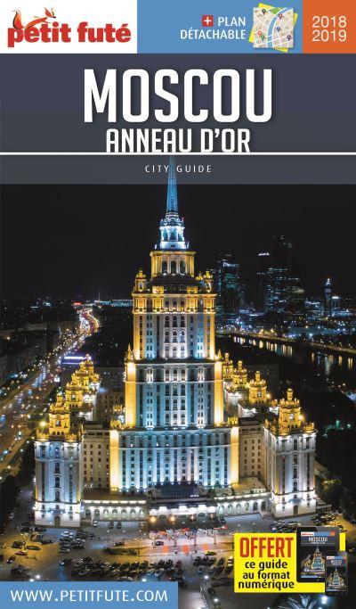 Moscou - anneau d'or 2018-2019 petit fute + offre num + plan