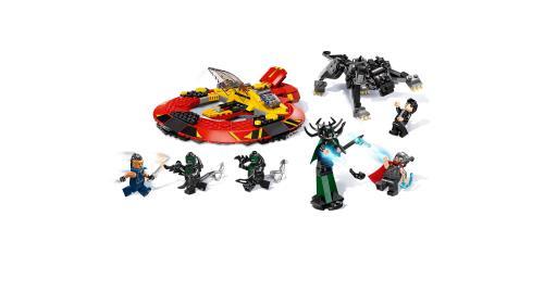 SUPER HEROES 76084 LA BATAILLE SUPRÊME POUR LA SURVIE D/'ASGARD LEGO