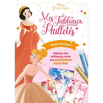 Disney PrincessesPochette Tableaux pailletés : Robes féeriques