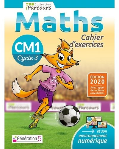 Cahier D Exercices Iparcours Maths Cm1 2020 Broche Katia Hache Sebastien Hache Achat Livre Fnac
