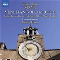 Venetian Solo Motets