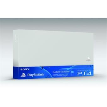 Accessoire Sony Custom Faceplate Argent pour Console PS4