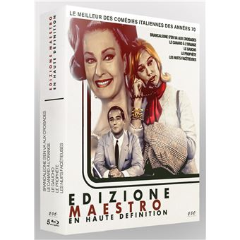 Coffret Le Meilleur des Edizione Maestro en HD 5 Films Blu-ray