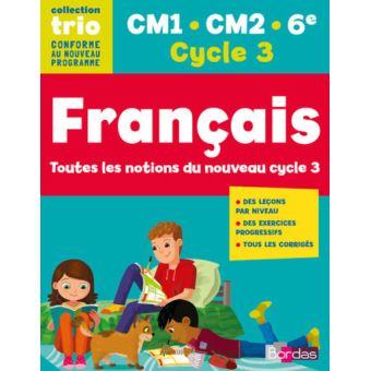 Trio Francais Cm1 Cm2 6e