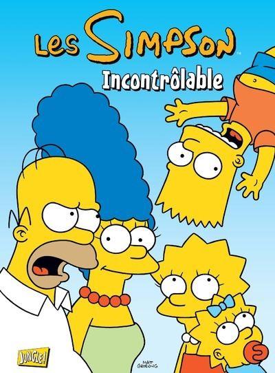 Les Simpson - tome 19 Incontrolables