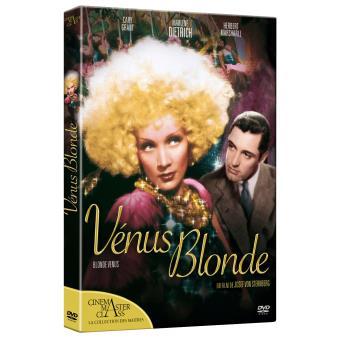 Vénus Blonde Edition Fourreau DVD