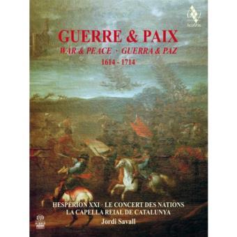 Guerre et paix 1614-1714, Inclus livre - 2 SACD