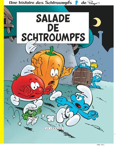 Les Schtroumpfs Lombard - Salade de Schtroumpfs