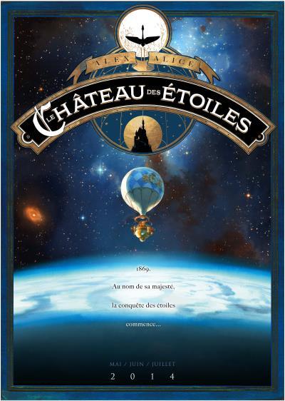 Le château des étoiles tome 1 - la conquête de l'espace (grand format)