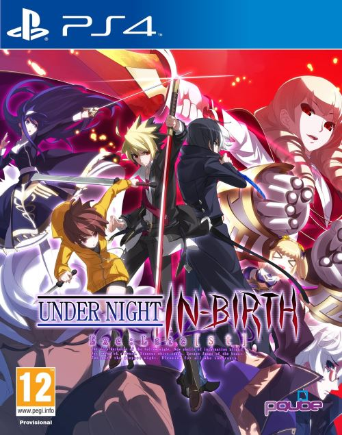 Under Night In-Birth Exe : Late[st] PS4