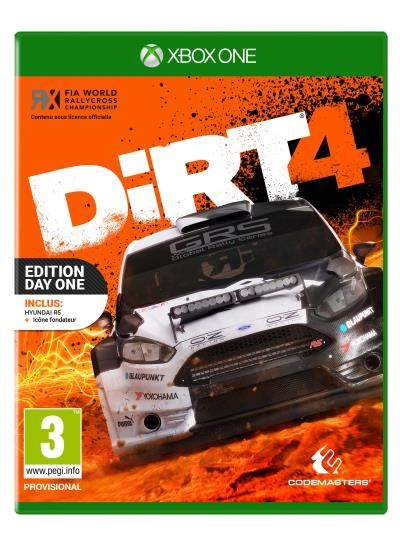 DiRT 4 Edition Day One Steelbook Xbox One