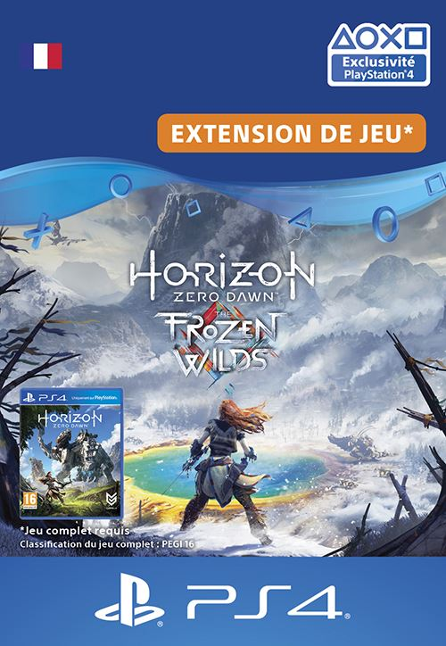 Horizon Zero Dawn : The Frozen Wilds PS4 code de téléchargement