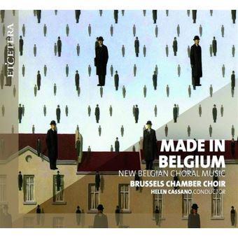 Made in Belgium New Belgium Choral Music