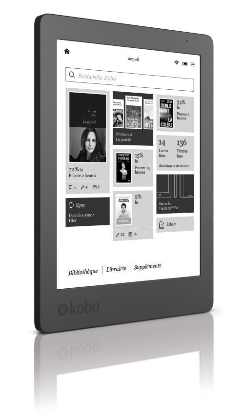 2002c3aa3f032 Liseuse numérique Kobo by Fnac - Kobo Aura 2ème édition - eBook - Achat &  prix | fnac