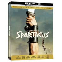 Spartacus Steelbook Edition Collector Blu-ray 4K Ultra HD