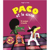 Paco et le disco, Livre sonore