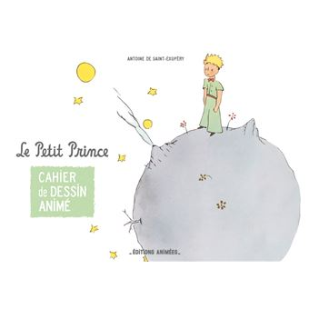 Cahier de dessin animé - Le Petit Prince
