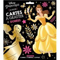 DISNEY PRINCESSES - Pochette Les Ateliers - Cartes à gratter dorées