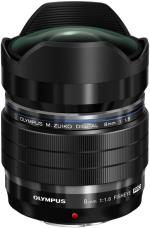 OLYM Objectif hybride Olympus M. Zuiko Digital 8 mm F/1.8 Fish...
