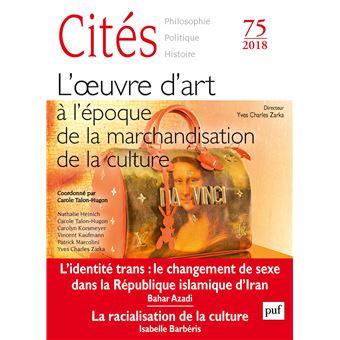 Cites,75:l'art a l'epoque de l'industrie culturelle